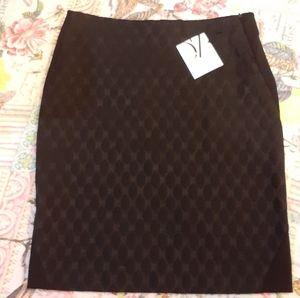 NWT Diane Von Furstenberg Designer Skirt Size 12